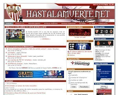 Hastalamuerte.net antes de Julio de 2009