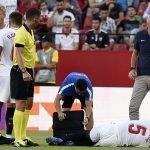 El gafe del Sevilla con las lesiones traumáticas