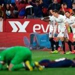 SevillaFC 2-2 SD Eibar: Se acabó el colchón