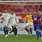 SevillaFC 1-0 SD Eibar: Ocampos vale medio pase a la Champions